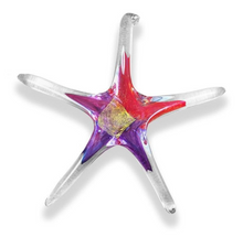Load image into Gallery viewer, Hand Blown Glass Star - 5 inch