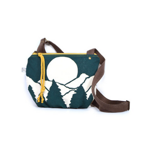 Rachel Elise date purse - peacock vista