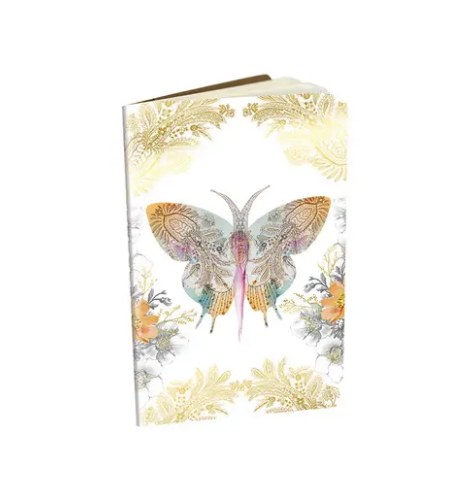 mini book - paisley butterfly