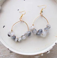 Load image into Gallery viewer, Shower storm earrings