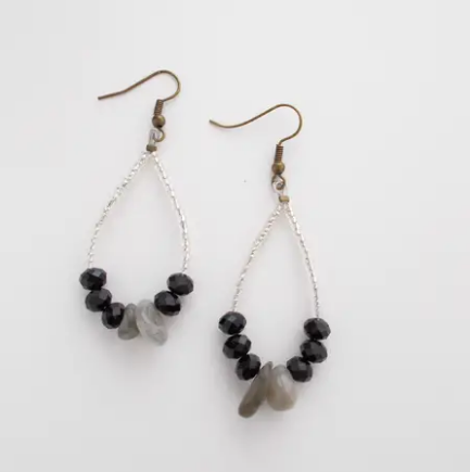 Smokey earrings