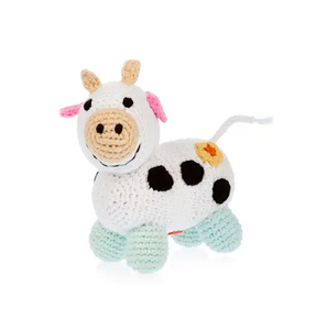 chubby farm cow rattle