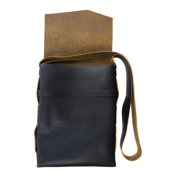 Explorer Leather Satchel - Stone
