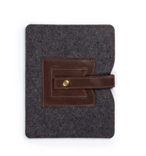 Load image into Gallery viewer, Cache iPad Sleeve in Dark Brown