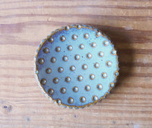Load image into Gallery viewer, B Robertson Pottery - Polka Dotty Mini Plate - Ceramics - Handmade Pottery
