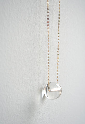 Laura Stark Designs - Glass Globe Necklace