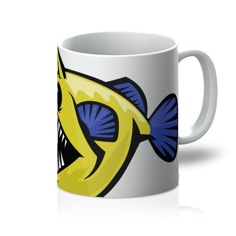 EVOLUTION OF THE ANGLERFISH MUG