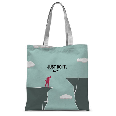 JUST DO IT. Sublimation Tote Bag