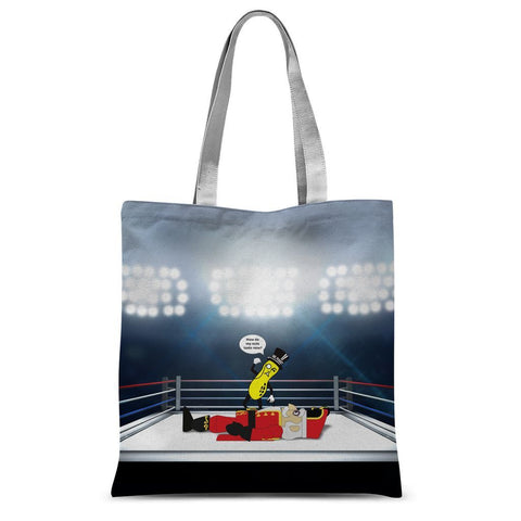 THIS ONE'S FOR MR. WALNUT Sublimation Tote Bag