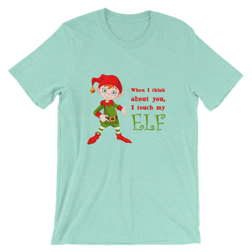 I KEEP THIS ELF ON THE SHELF REAL CLOSE - Shirts&Giggles.com