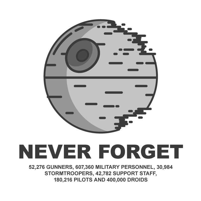THE DEATH STAR MASSACRE - Shirts&Giggles.com