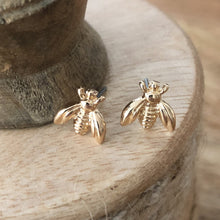 grateful honeybee stud earrings