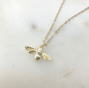 grateful honey necklace