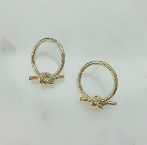 Annie knot earrings