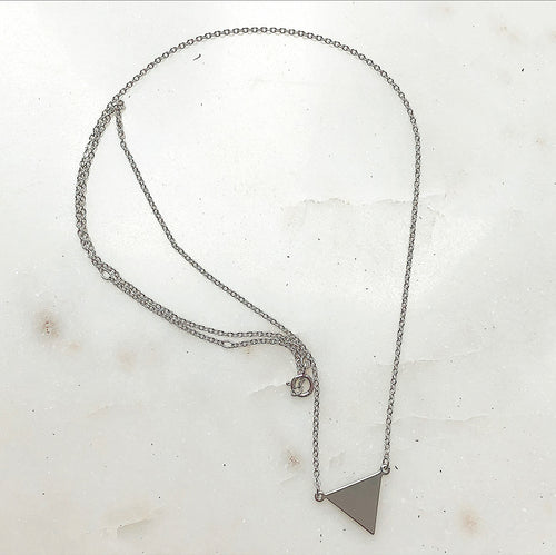 three points necklace