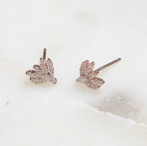 grateful odette mini stud earrings