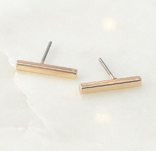 banks bar earrings