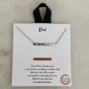 road necklace