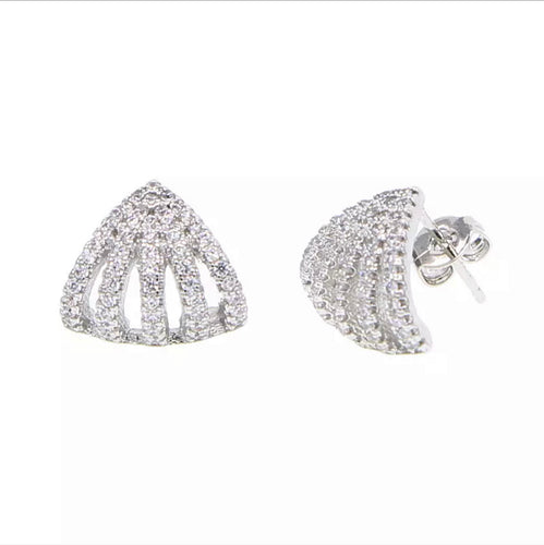 Waterfall  diamondette earrings