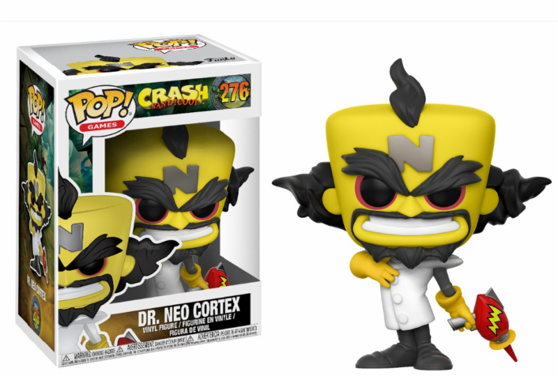 Pop! Games Crash Bandicoot Neo Cortex