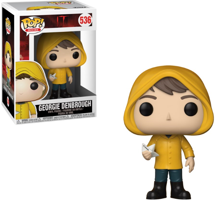 Pop! Movies IT Georgie Denbrough