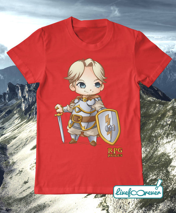 T-shirt uomo - RPG rules - Paladino