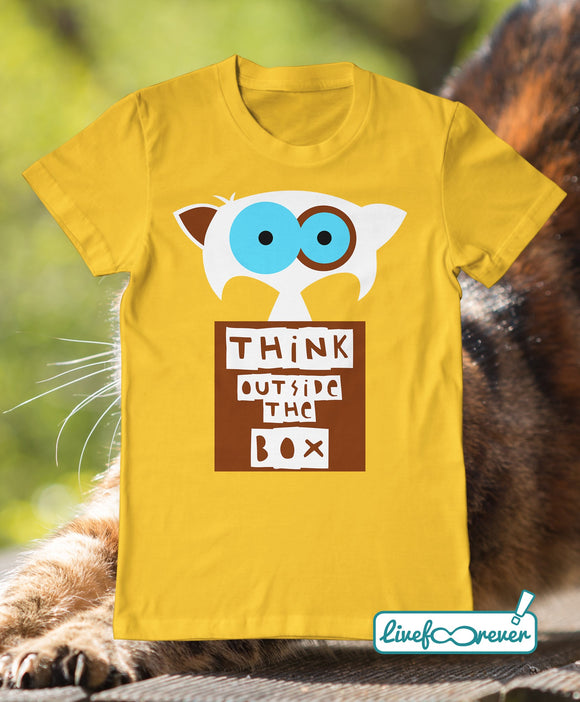 T-shirt uomo – gatto - Chopin – think outside the box