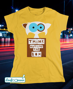 T-shirt gatto donna – Chopin – think outside the box