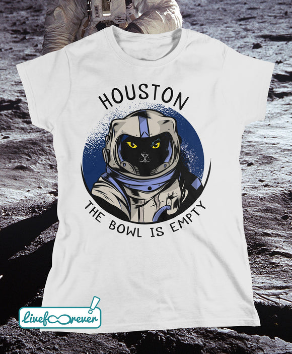Astrocat – Houston, the bowl is empty