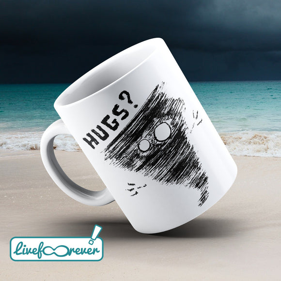 Tazza 325 ml – Alfonsino the hurricane – Hugs?