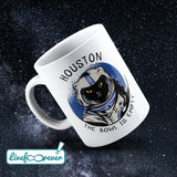 Tazza 325 ml – Glorious Feline Master Race – Astrocat – Houston, the bowl is empty
