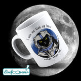 Tazza 325 ml – Glorious Feline Master Race – Astrocat – I see no God up here. Other than me.