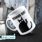 Tazza 325 ml – Glorious Feline Master Race – Meowrio, the Italian cat – Mamma mia!