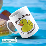 Tazza 325 ml – Quack Quack motherfucker