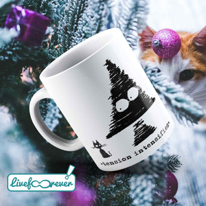 Tazza 325 ml – Rigatto versus Christmas (tension intensifies)