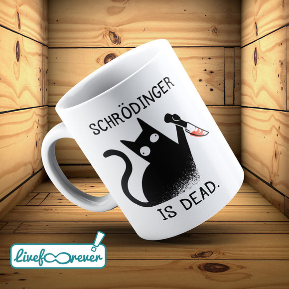 Tazza 325 ml – Glorious Feline Master Race – Schrodinger is dead