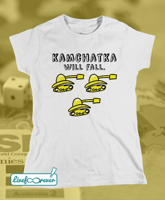 T-shirt donna – Kamchatka will fall