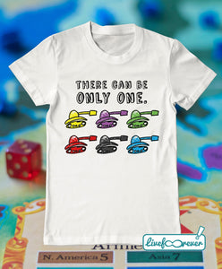 T-shirt uomo – There can be only one