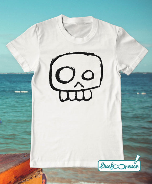 T-shirt uomo teschio – Agent Skully