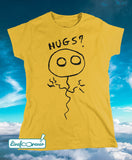T-shirt donna – Pallolo the ghost balloon (giallo)