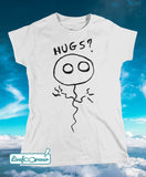 T-shirt donna – Pallolo the ghost balloon (bianco)