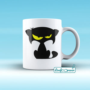 Tazza 325 ml – Glorious Feline Master Race - Mozart is not amused