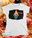 T-shirt donna – The dark side of the pizza