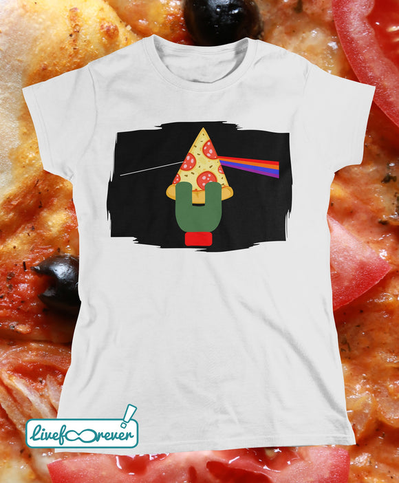 T-shirt uomo – The dark side of the pizza (Raph)