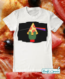 T-shirt uomo – The dark side of the pizza