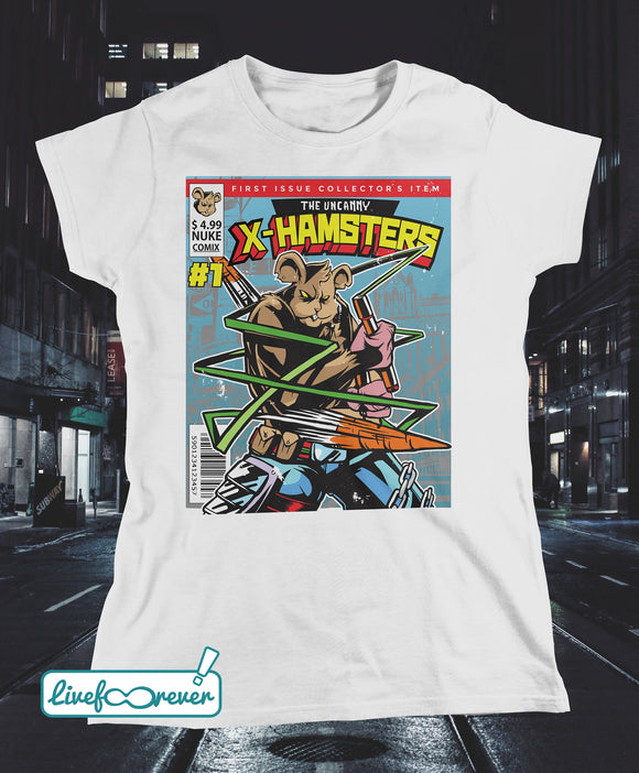 T-shirt donna – Gli incredibili X-Hamsters!