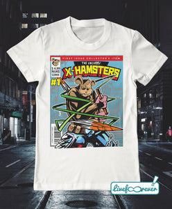 T-shirt uomo – The uncanny X-Hamsters