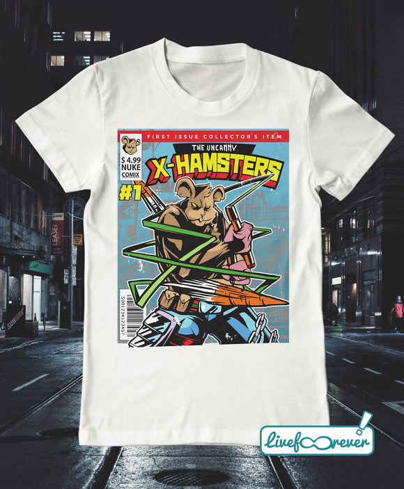 T-shirt uomo – Gli incredibili X-Hamsters!
