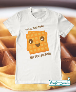 T-shirt uomo – I'm going to be eaten alive!