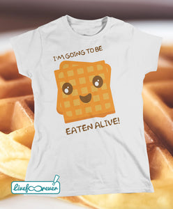 T-shirt donna – I'm going to be eaten alive!